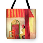 Turkish Cafe By August Macke Tote Bag