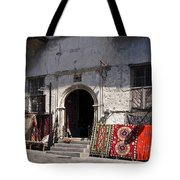 Turkish Carpet Shop Tote Bag