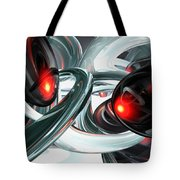 Turmoil Abstract Tote Bag
