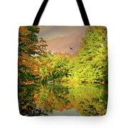 Turn Of River Tote Bag