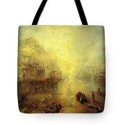 Turner Joseph Mallord William Ancient Italy Ovid Banished From Rome Joseph Mallord William Turner Tote Bag