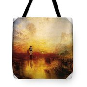 Turner Joseph Mallord William The Exile And The Snail Joseph Mallord William Turner Tote Bag