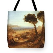 Turner Joseph The Bay Of Baiae With Apollo And The Sibyl Joseph Mallord William Turner Tote Bag