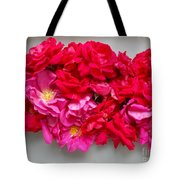 Turning Up Roses Tote Bag