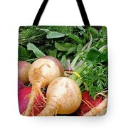 Turnips And Carrots Tote Bag