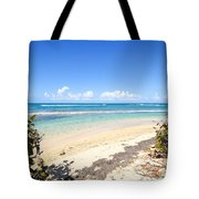 Turquoise Beach Hideaway In Vieques Tote Bag
