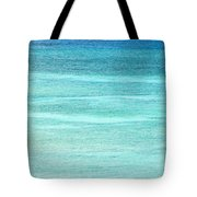 Turquoise Blue Carribean Water Tote Bag