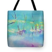 Turquoise Blue Tote Bag