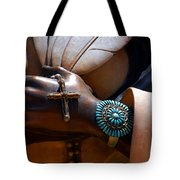 Turquoise Bracelet  Tote Bag by Susanne Van Hulst