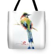 Turquoise-browed Motmot  Bird Tote Bag
