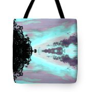 Turquoise Diamonds In The Sky Tote Bag
