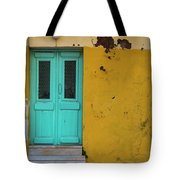 Turquoise Entry Tote Bag