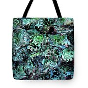 Turquoise Garden Of Glass Tote Bag