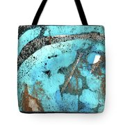 Turquoise Gold Pond 1 Tote Bag
