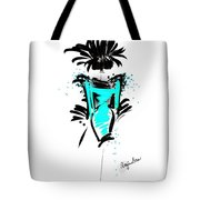 Turquoise In The City Tote Bag