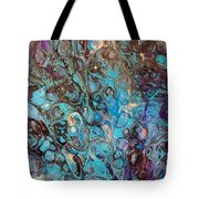 Turquoise Intrigue Tote Bag