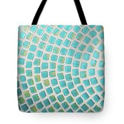 turquoise meets green P2 Tote Bag