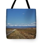 Turquoise Mine Off Hwy 142 Tote Bag