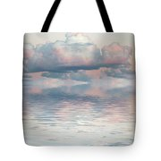 Turquoise Moon Rise Tote Bag