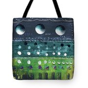 Turquoise Moons Tote Bag
