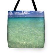 Turquoise Ocean Tote Bag
