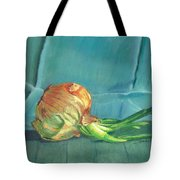 Turquoise Onion Tote Bag