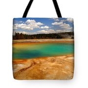 Turquoise Pool  Tote Bag