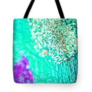 Turquoise Spell Tote Bag