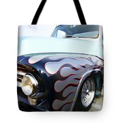 Turquoise Statement Tote Bag