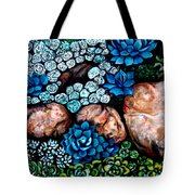 Turquoise Stone Tote Bag