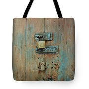 Turquoise Turning Pink Tote Bag