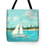 Turquoise Waters Tote Bag