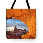 Turret Arch 3 Tote Bag