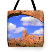 Turret Arch, Arches National Park Tote Bag