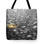 Turtle And Fish School Tote Bag