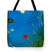 Turtle And Friends Tote Bag