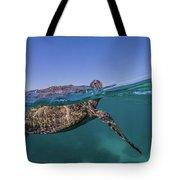 Turtle Breath Tote Bag