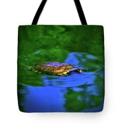 Turtle Coming Up For Air 003 Tote Bag