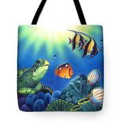 Turtle Dreams Tote Bag