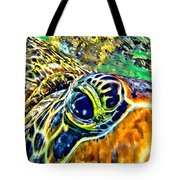 Turtle Eye Tote Bag