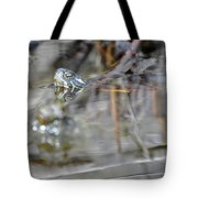 Turtle Eye Reflection Tote Bag