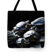 Turtle Family Tote Bag