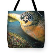 Turtle Run Tote Bag