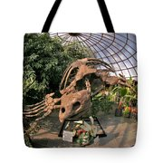 Turtle Skeleton Tote Bag
