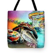 Turtle Slide Tote Bag