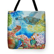 Turtle Territory Tote Bag
