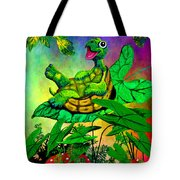 Turtle-totter Tote Bag