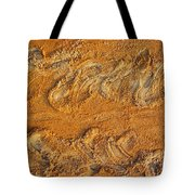 Turtle Tracks Tote Bag