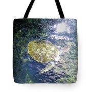 Turtle Water Glide Tote Bag