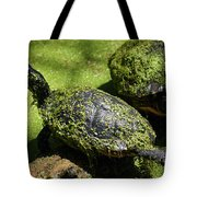 Turtle Yoga Tote Bag